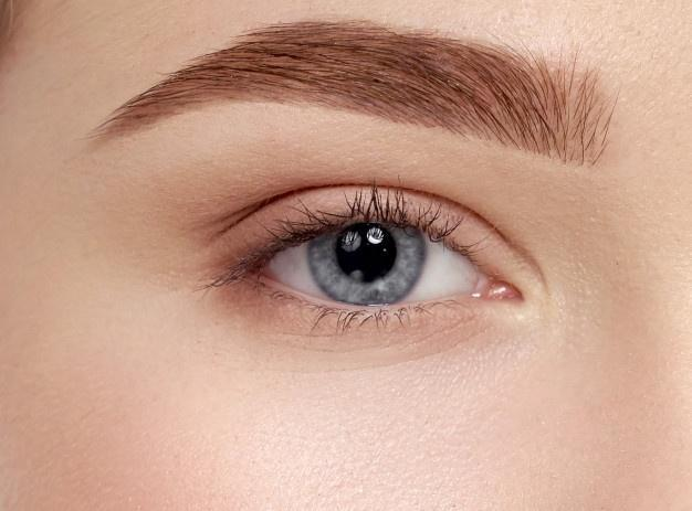 shave your eyebrows to be beautiful without makeup